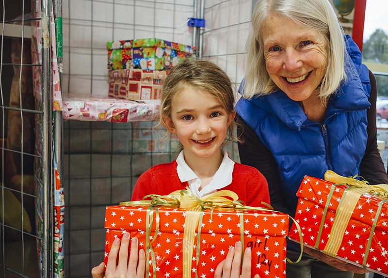 Holiday Support for Local Charities
