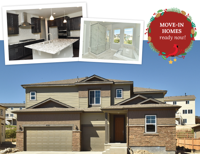 SPECIAL YEAR-END PRICING ON NEW HOMES AT TERRAIN